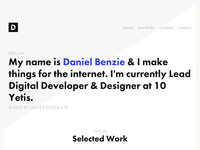 danielbenzie.co.uk