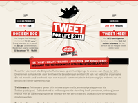 www.tweetforlife.be